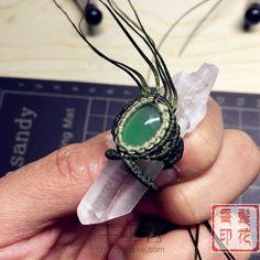 立体水晶柱包石项链 第32步