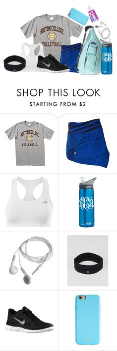 """starting a strict fitness schedule! super excited! if you want to see what it is comment below and I will show it! so excited!"" by libster4404 ❤ liked on Polyvore featuring The North Face, Kavu, CamelBak, lululemon, NIKE and Kate Spade"