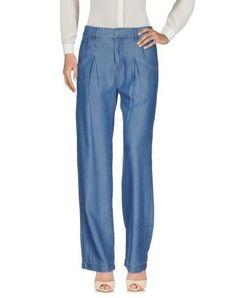 PATRIZIA PEPE Women's Casual pants Blue 6 US