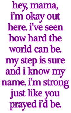 Miranda Lambert - 'Mama i'm alright'