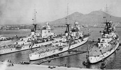 "WW2 Italy 4 heavy cruisers, class  ""Fiume"" ( Zara,Pola,Fiume and Gorizia)"