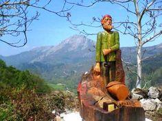 """La ruta """" El Camín Encantáu """" nos lleva a un viaje de leyenda por la mitología asturiana, cuélebres, xanas, trasgo. ¿De verdad crees que no existen…?"""