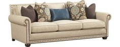 Living Rooms, Caroline Sleeper Sofa, Living Rooms | Havertys Furniture
