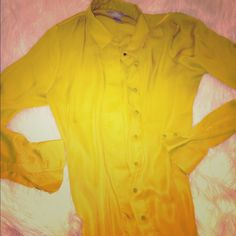 H&M Shirt ❣ Fun, vibrant color! NWOT, never worn- fits a medium perfectly! H&M Tops Blouses