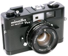 Minolta Hi-Mattic 7SII. My absolute favorite camera in the collection