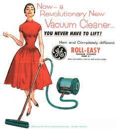 ~| The General Electric Roll-Easy Vacuum Cleaner |~