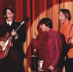 """She Hangs Out"" - The Monkees (GIF) 