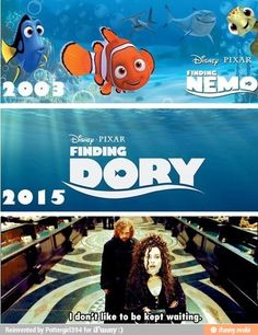Finding Dory 2015.. / iFunny :)- I did my waiting! 12 years of it! In Azkaban!