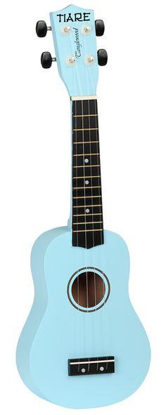 TANGLEWOOD TWTSP-SBL Jasno-niebieskie ukulele Sopranowe z pokrowcem #komunia Banjo, Ukulele, Guitar, Music Instruments, Musical Instruments, Guitars, Banjos