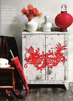 Michelle - Blog #Asian #inspirations Fonte : http://inspirationforhome.blogspot.ca/2012/04/diy-inspiration-dresser-makeover-ideas.html