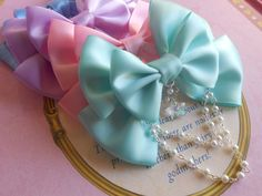 Hey, I found this really awesome Etsy listing at https://www.etsy.com/listing/212099584/fairy-kei-hair-clip-or-brooch-bow-with