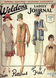 Weldon's Ladies' Journal, August 1927
