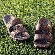991c688d2 Dark Brown Classic Jandals - Pali Hawaii Sandals - The Hawaiian Jesus  Sandals - Alohaz Pali