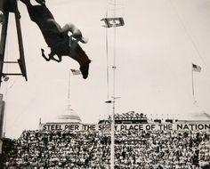Vintage photos of Steel Pier in Atlantic City