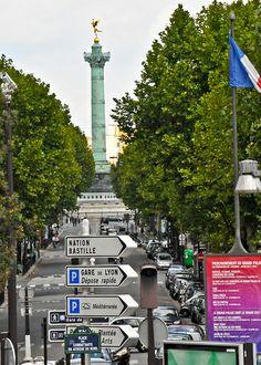 July Column of Bastille - Paris France