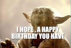 Yoda happy birthday