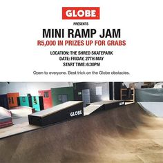 If you're going to the today at the there'll be a best trick contest with 5000 monies up for grabs! by stelliesskate Mini Ramp, Skate Park, Instagram Posts