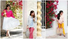 Girly spring outfits -- 2015 recap