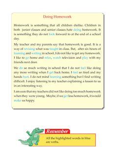 Grade 5 Narrative Essay Doing Homework Essay Writing Skills, English Writing Skills, Narrative Essay, English Reading, Persuasive Writing, Writing Practice, First Grade Reading Comprehension, Phonics Reading, Reading Comprehension Worksheets