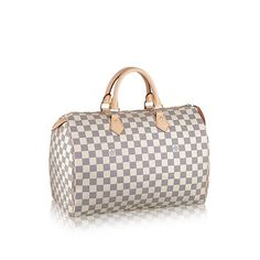 cfd5a955ee Louis Vuitton Damier Azur Canvas Speedy 35