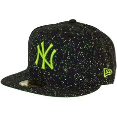 New Era Splatterdot Cap NY Yankees schwarz lindgrün New Era 806fcb8d94aa
