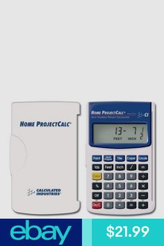 Calculated Industries 8510 Home Project Calc Do It Yourself Project Calculator Do It Yourself Projects, Carpet Tiles, Calculator, Home Projects, Healthy Living, Industrial, Business, Ebay, Products