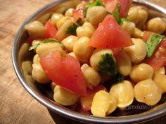Cícerový šalát Fruit Salad, Salads, Fit, Recipes, Fruit Salads, Shape, Ripped Recipes, Salad