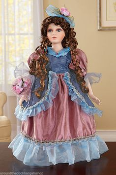Valencia Victorian Porcelain Collectible Doll