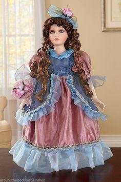 Valencia Victorian Porcelain Collectible Doll