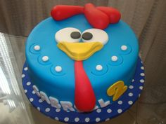 bolo-decorado-festa-infantil-aniversario-galinha-pintadinha