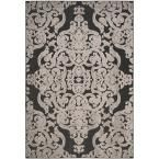 Orian Rugs Spirit Black 7 ft. 10 in. x 10 ft. 10 in. Area Rug-272901 - The Home Depot