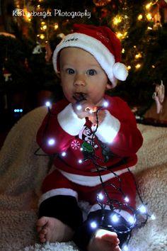 Baby Christmas Pic