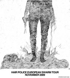hairpolice Tour poster