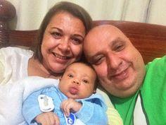 Diário do Felipinho: Babei no Vovô.