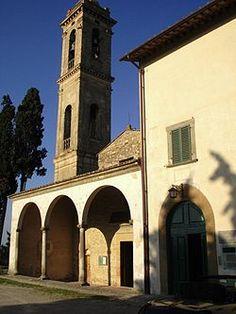 L'ingresso al Museo d'Arte Sacra di Tavarelle in Val di Pesa, adiacente alla pieve di San Pietro in Bossolo. Strada della Pieve 19, Tavarnelle Val di Pesa Info 0558077195 Apertura invernale su appuntamento