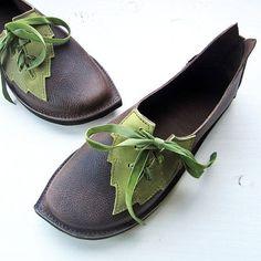 Handmade Custom Shoes   CUSTOM Leather Handmade bohemian fairy tale shoes by Fairysteps, £134 ...