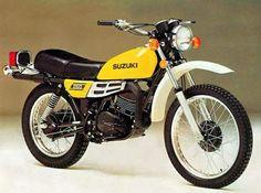 1977 Suzuki TS250.