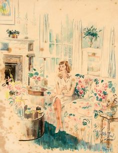 Cecil Beaton ~ Illustration