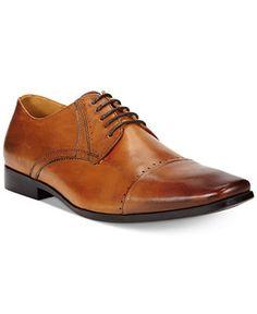 Bar III Jadon Cap Toe Oxfords - Dress Shoes - Men - Macy's