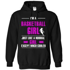 Cool basketball girl