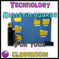If you are looking for some technology themed bulletin board ideas, then look no further! I hope these inspire you to dress up your classroom, technology style!