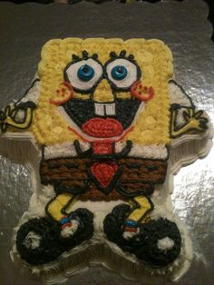 Sponge Bob! Served with Crabby patties!