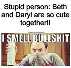 wrong. Of course Daryl wants Beth. Have you seen the way he's looking at her now?  Why wouldn't he want her? She's young, gorgeous, sweet, and so optimistic -- something that Daryl longs for.