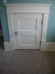 knee wall door - Google Search    Attic   Pinte