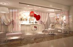 ¡Guau!, abrieron el primer salón de belleza de Hello Kitty en Dub... | Chilango.com