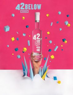 42 Below by Claudia Arena, via Behance