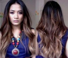 Easy DIY Ombre Hair Using LOreal Feria Wild Ombre Set In - Diy ombre hairstyle