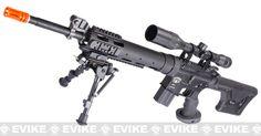 http://fb.com/KillingAngelsAirsoft The Killing Angels' flagship rifle: King Arms Blackwater BW15 Sniper Airsoft AEG Rifle $485
