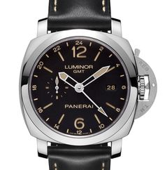 Officine Panerai Luminor 1950 3 days GMT 24h PAM00531 - мужские часы из стали