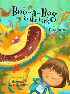 Boo-a-Bog in the Park is a heart-warming story about a little boy who overcomes loneliness with a little help from his new friend, Boo-a-Bog. A story of hope by Lucy Owen, illustrated by Andy Catling. #childrensbook #illustrators #freelancers #bookcoverdesign Creative Book Cover Designs, Creative Kids, Loneliness, Young People, Boys Who, Great Books, New Friends, Little Boys, Childrens Books